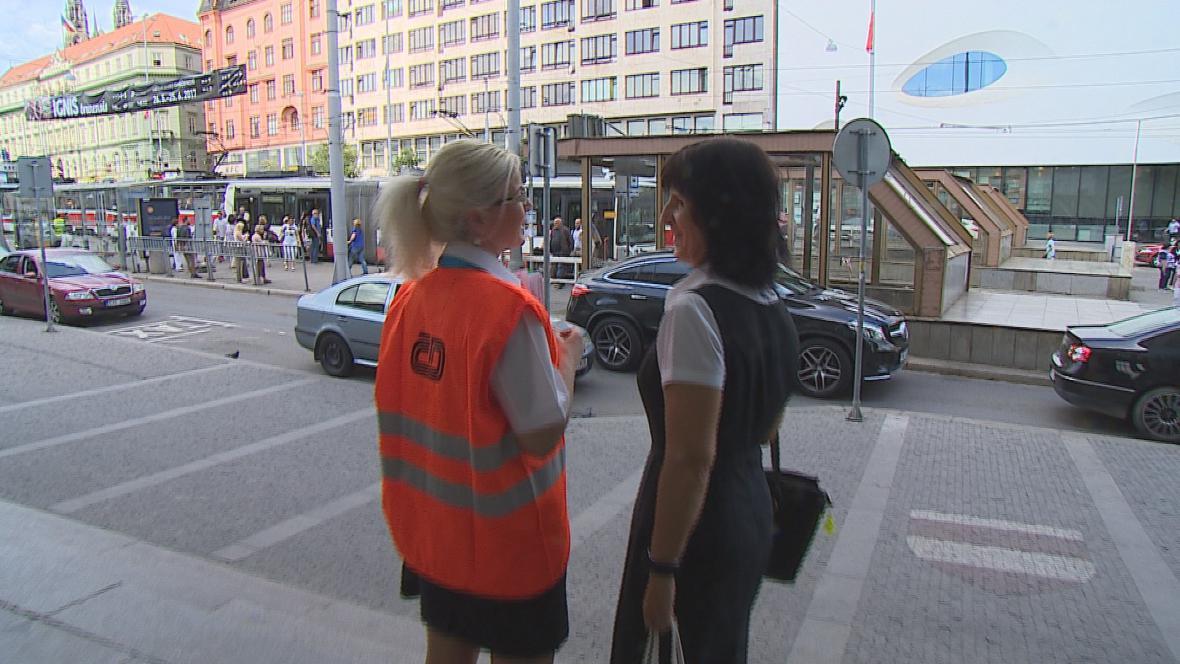 Železniční výluka v Brně