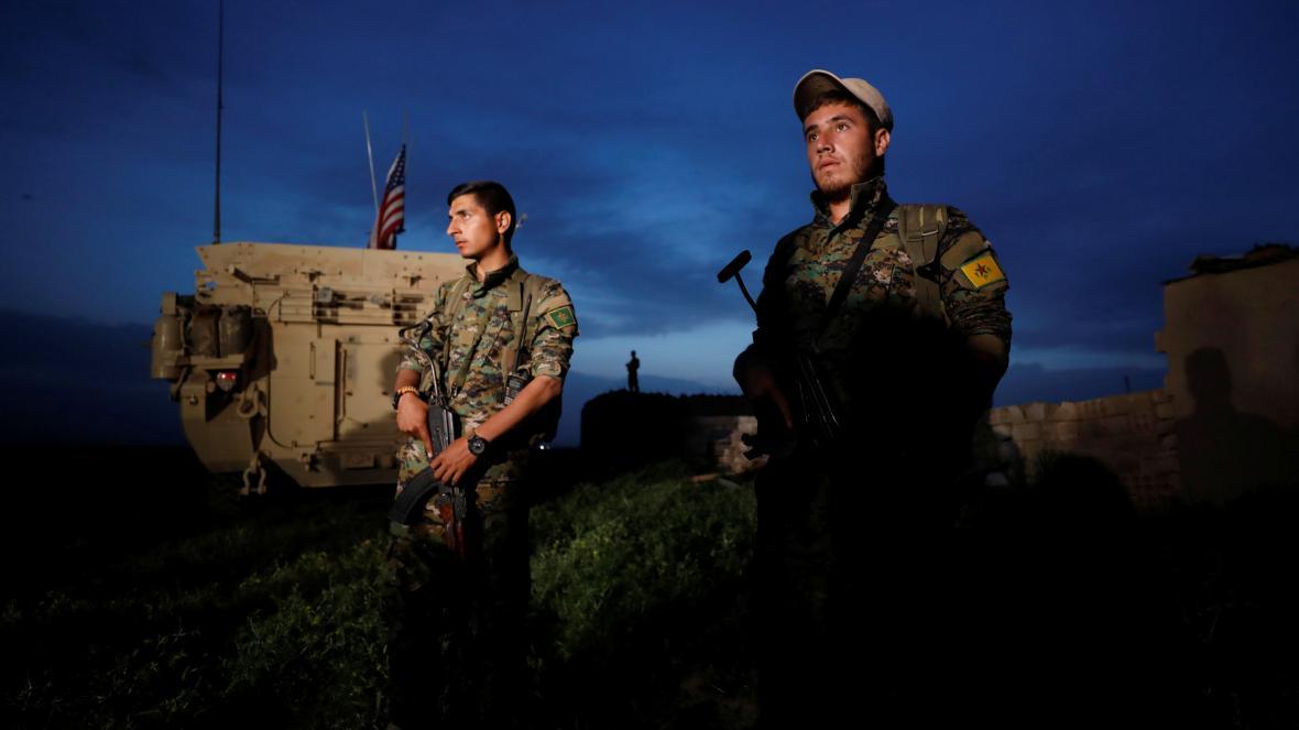 Kurdští bojovníci z YPG