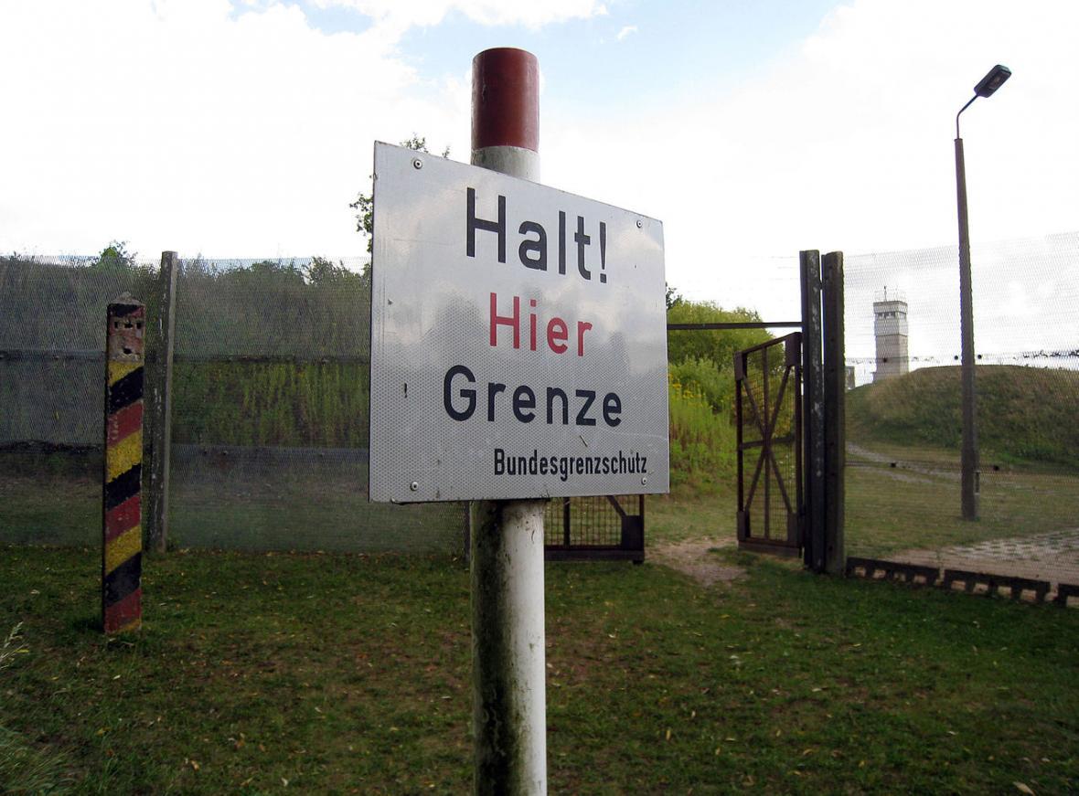 Německo-německá hranice