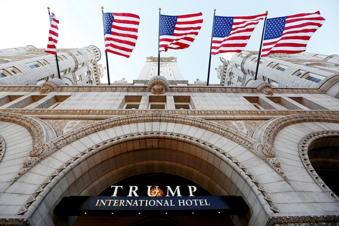 Trump International Hotel ve Washingtonu
