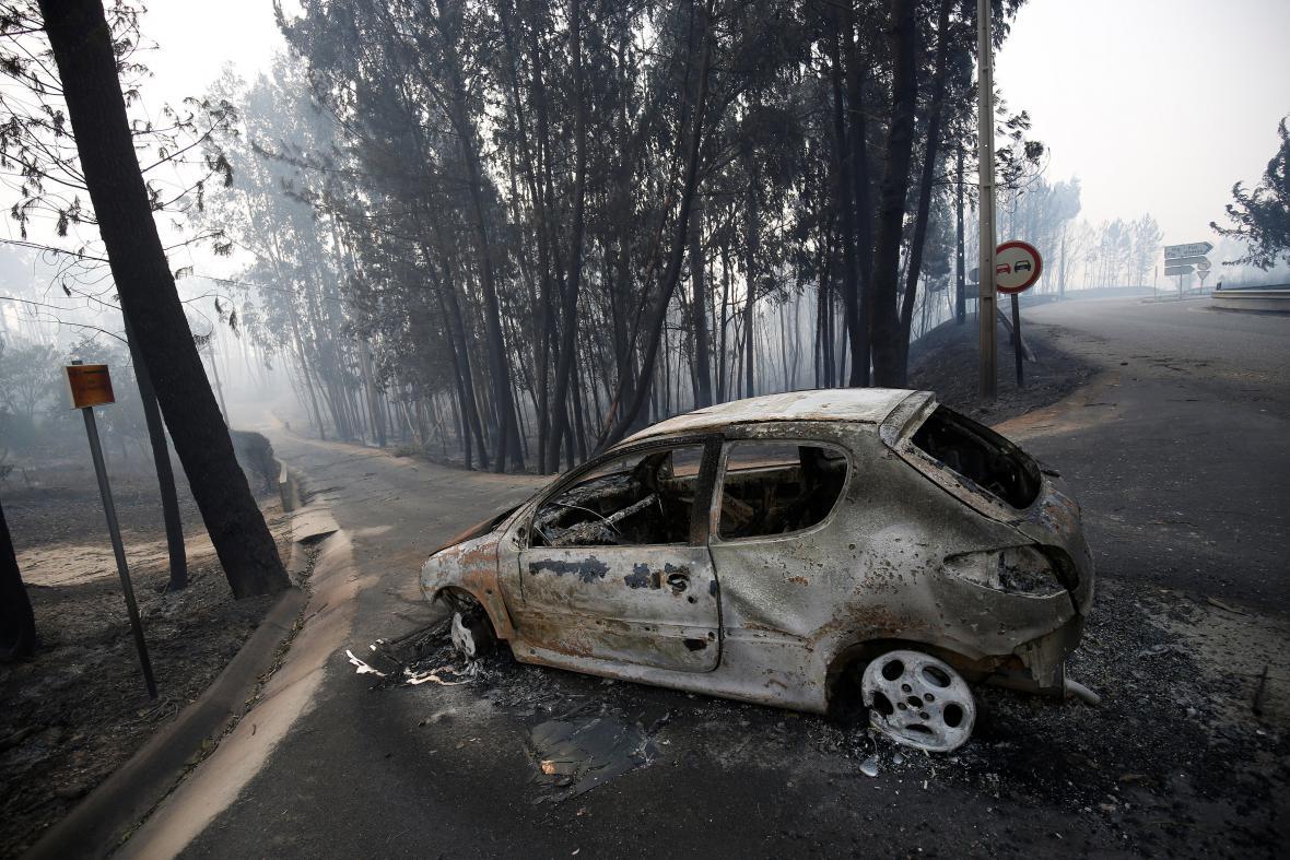 Tragické požáry v Portugalsku
