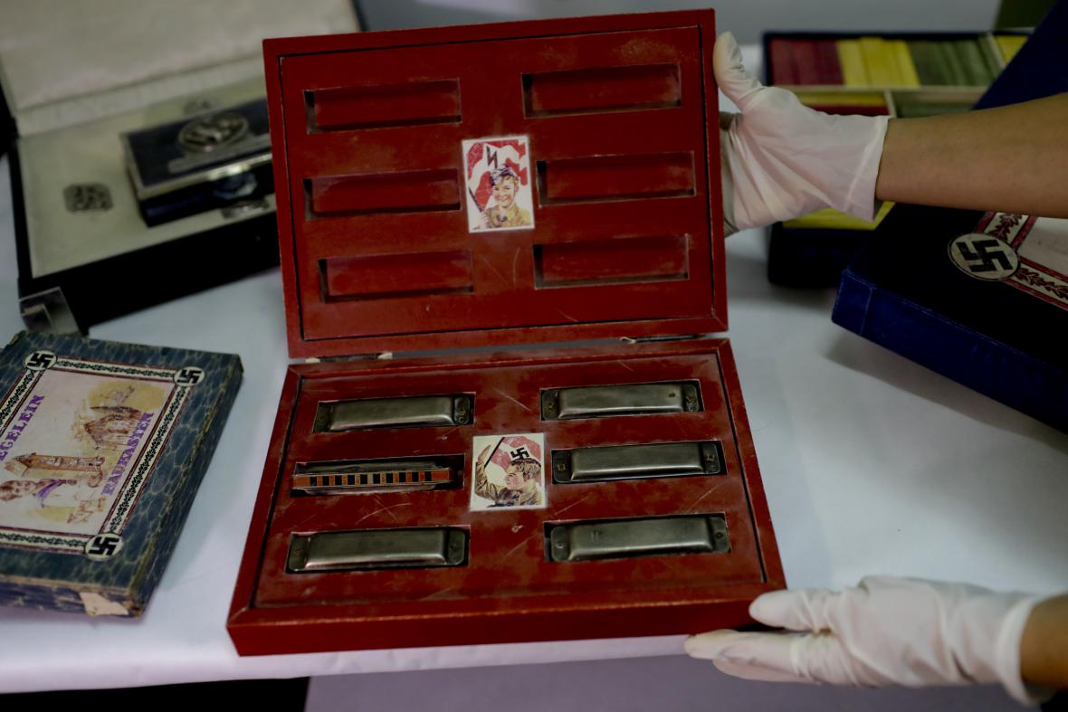 V Buenos Aires nalezena rozsáhlá sbírka nacistických předmětů