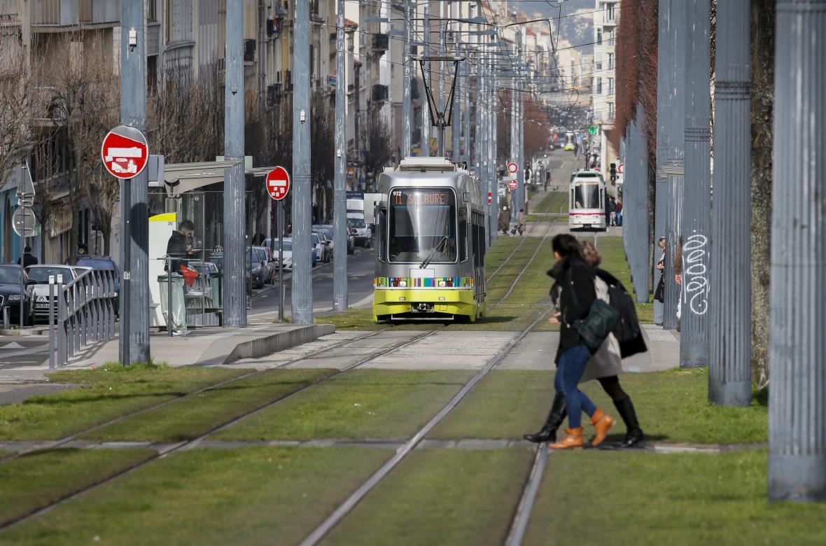 Tramvaj ve Francii