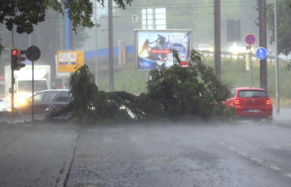 Následky bouřek v Německu
