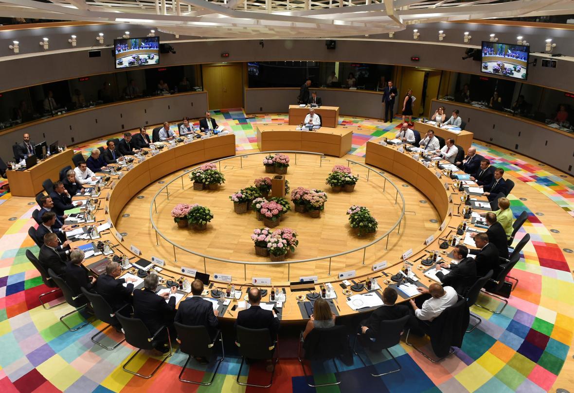 Jednání summitu EU