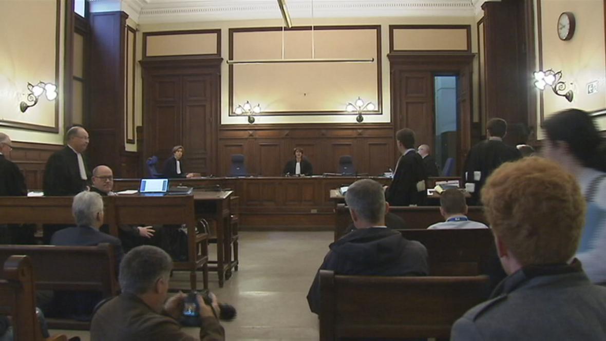 Přelíčení u belgického soudu