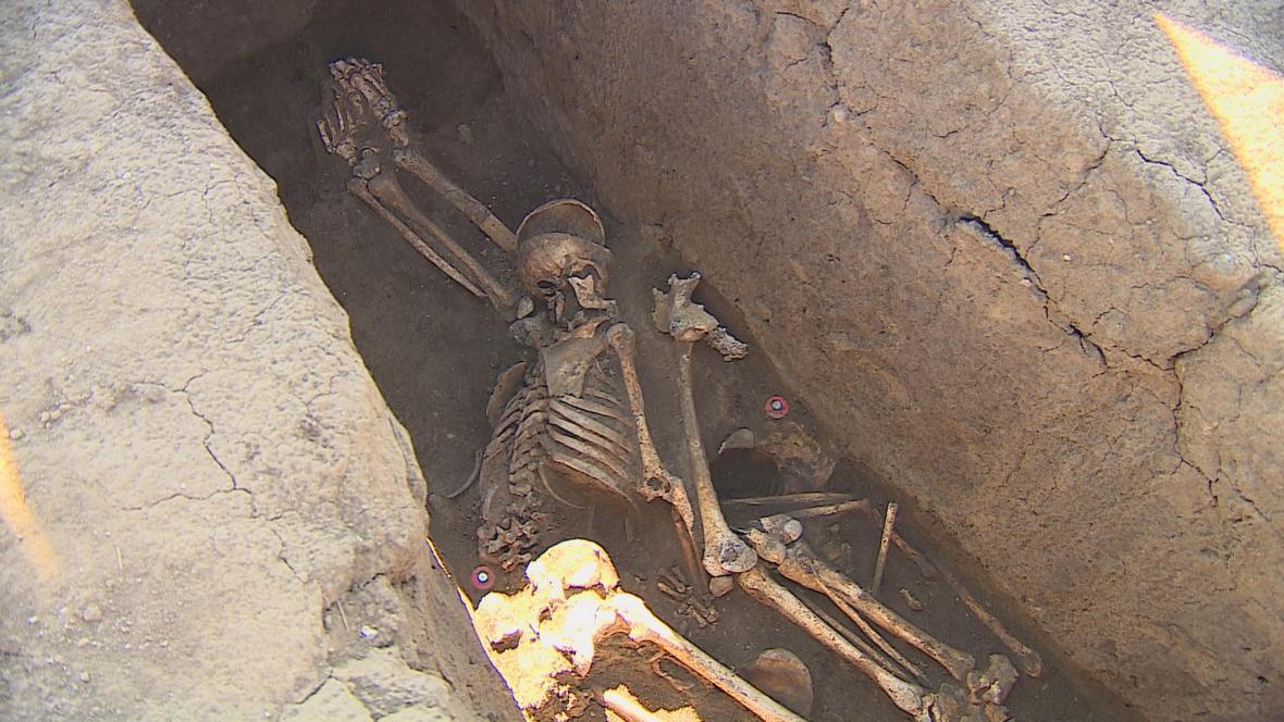Nálezy v v hrobech