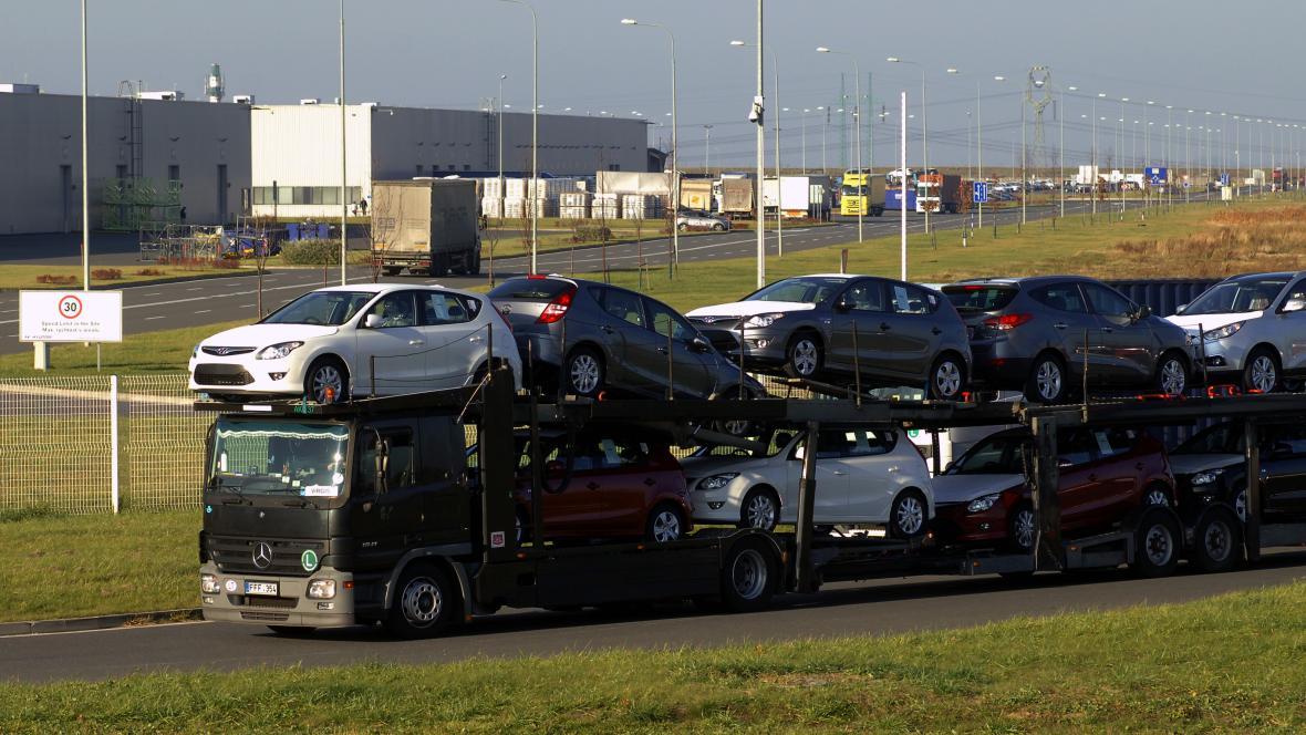 Výrobní závod Hyundai v Nošovicích