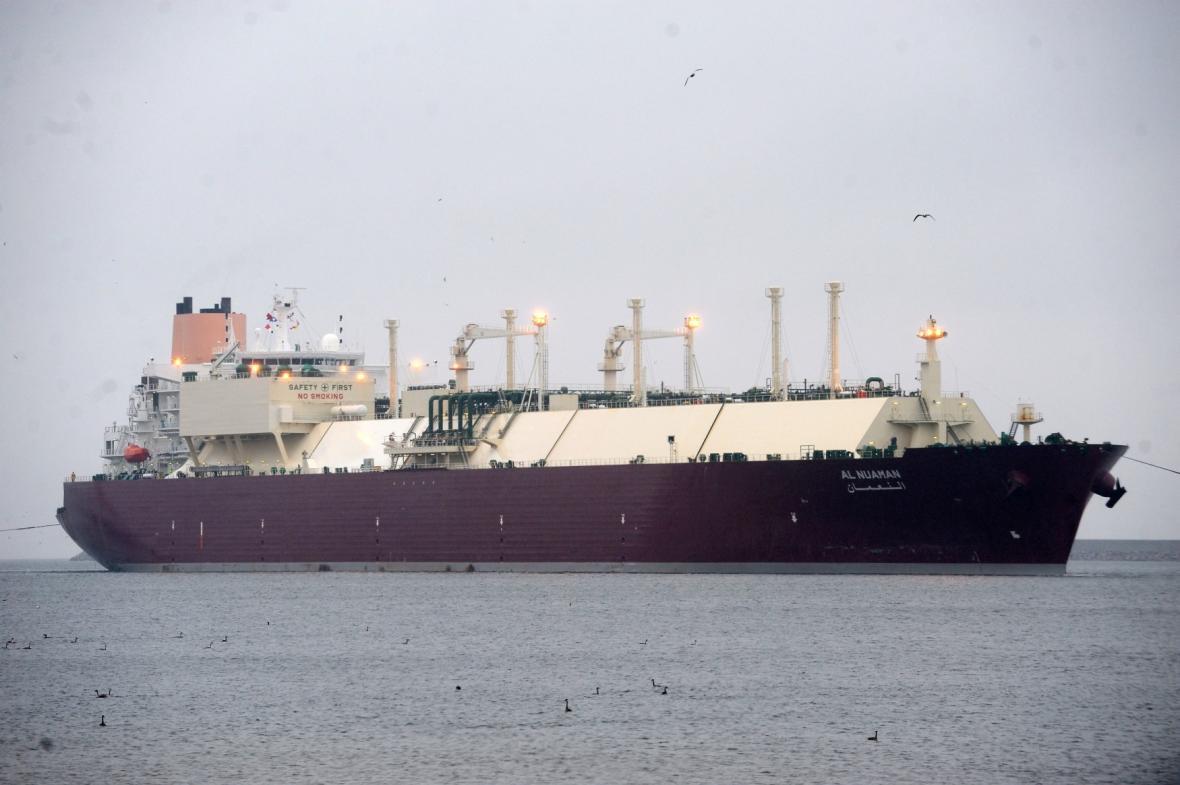 Tanker se zkapalněným zemním plynem