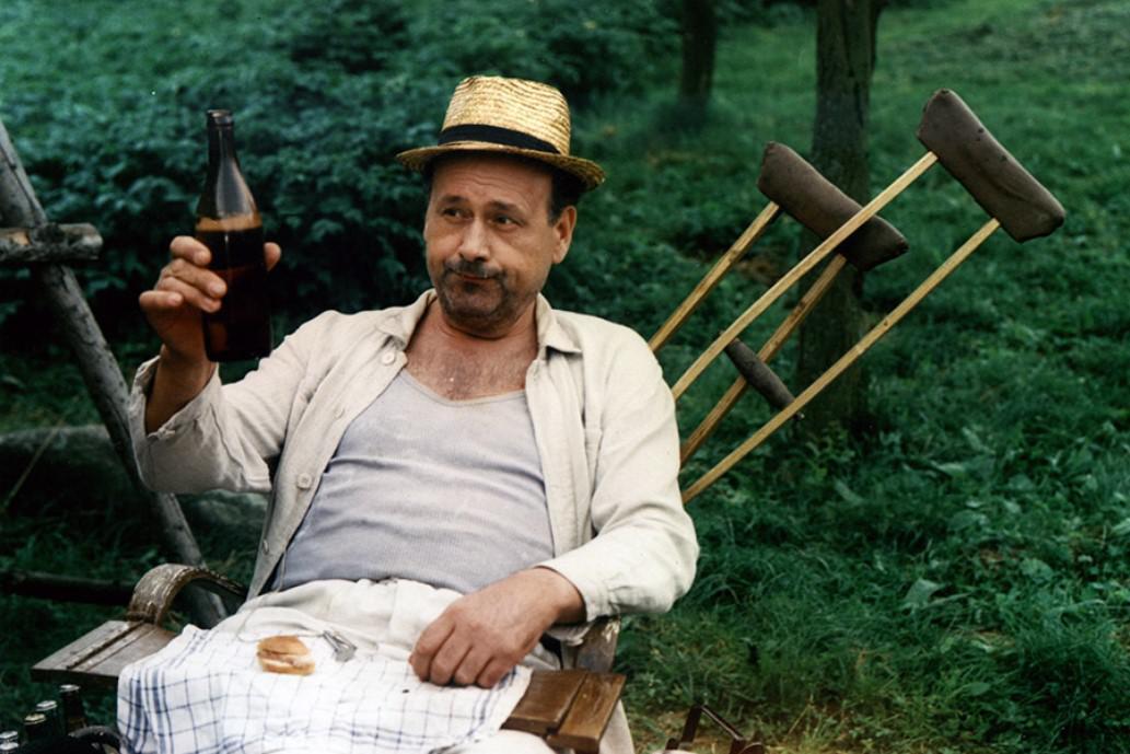 František Řehák ve snímku Na samotě u lesa