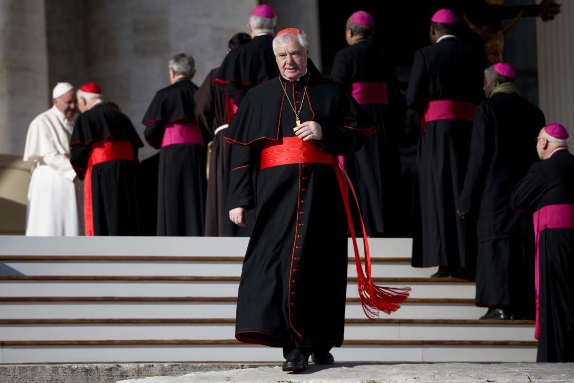 Kardinál Müller odchází z funkce prefekta Kongregace pro nauku víry