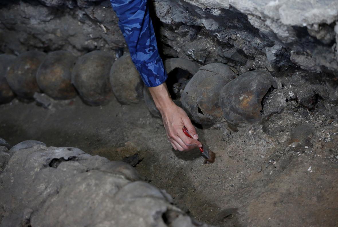 Morbidní nález mění pohled na zvyklosti Aztéků