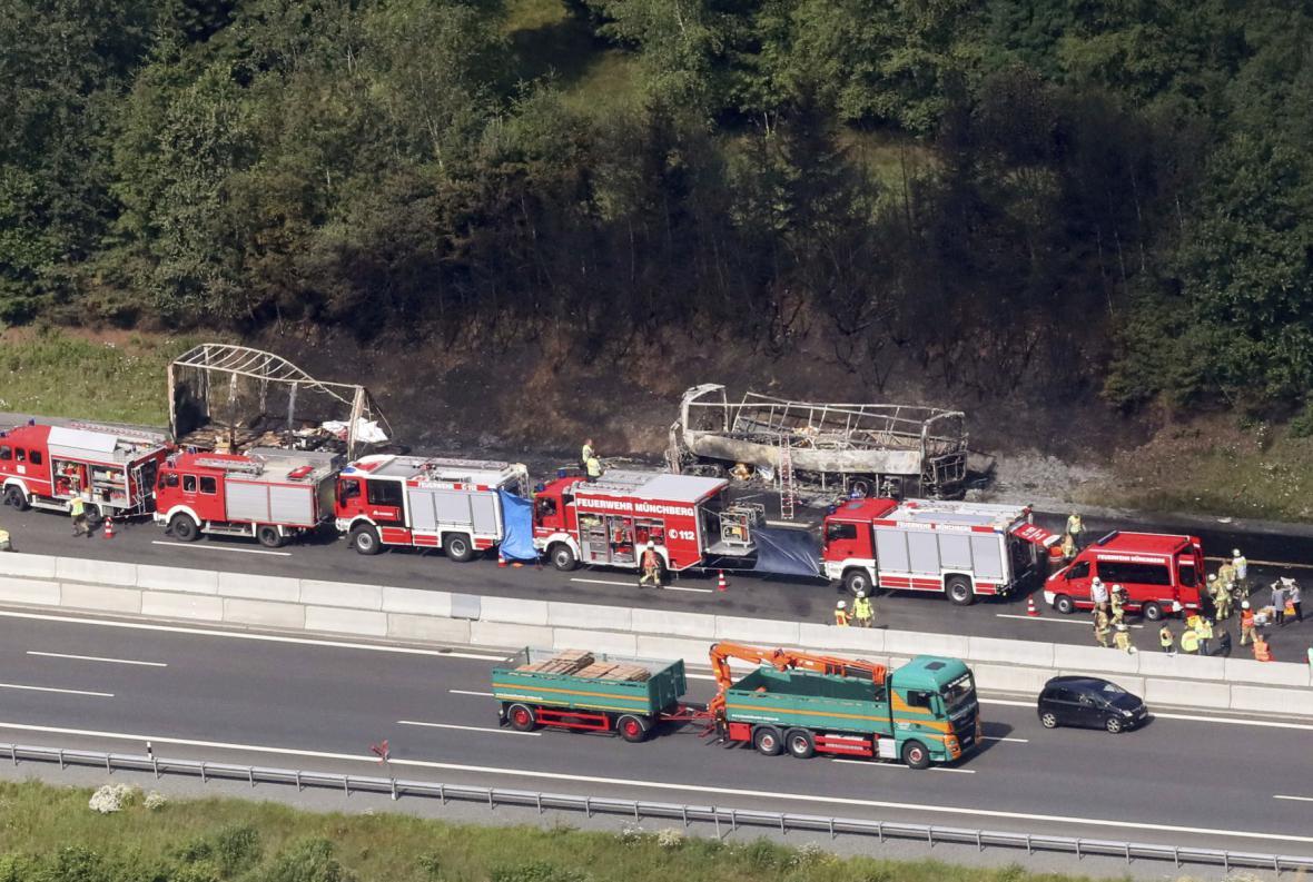 Tragická nehoda v Německu