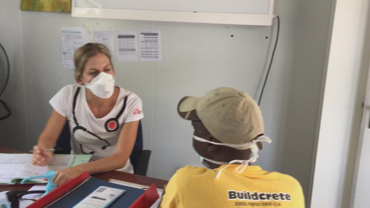 Slovenská lékařka Veronika Polcová v Jižním Súdánu