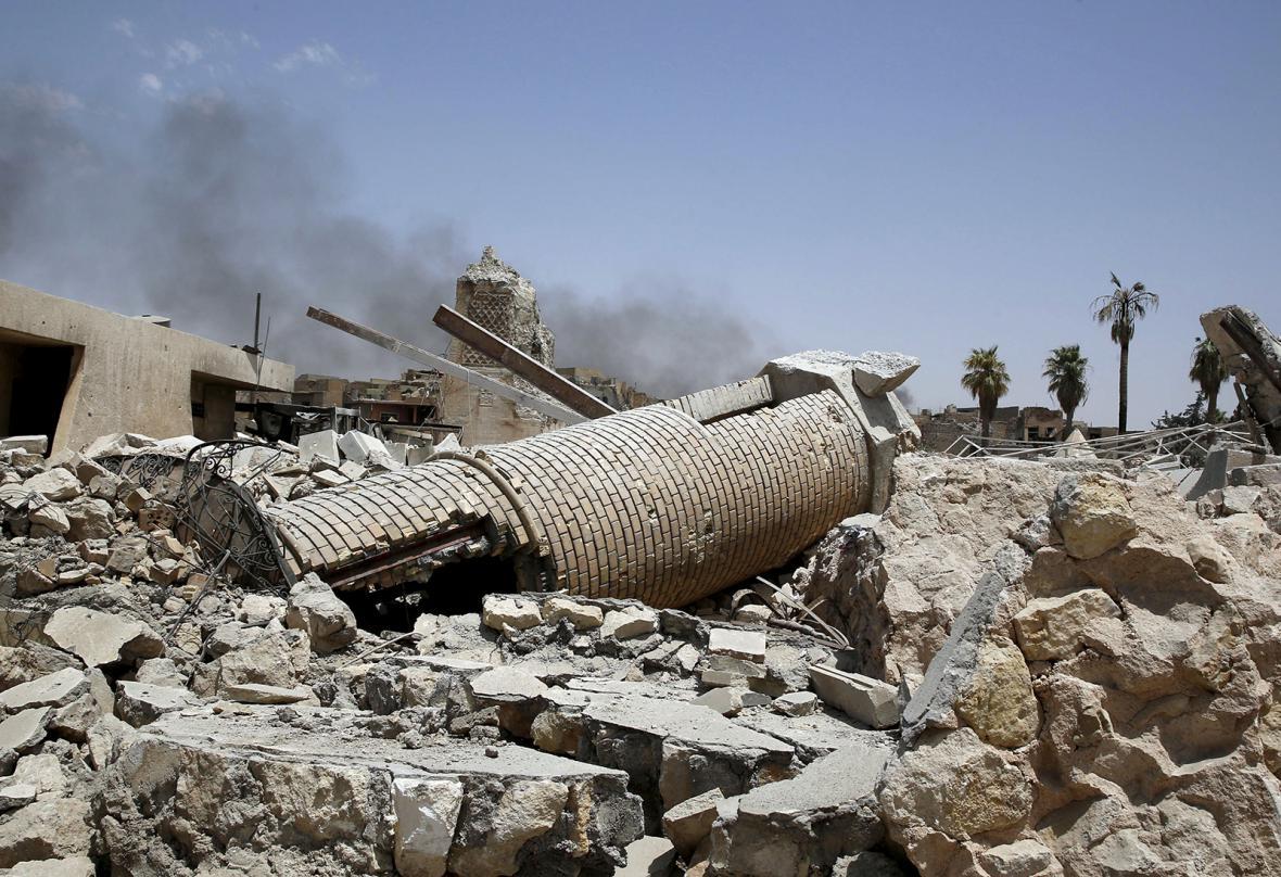 Mosul po znovudobytí vládními silami