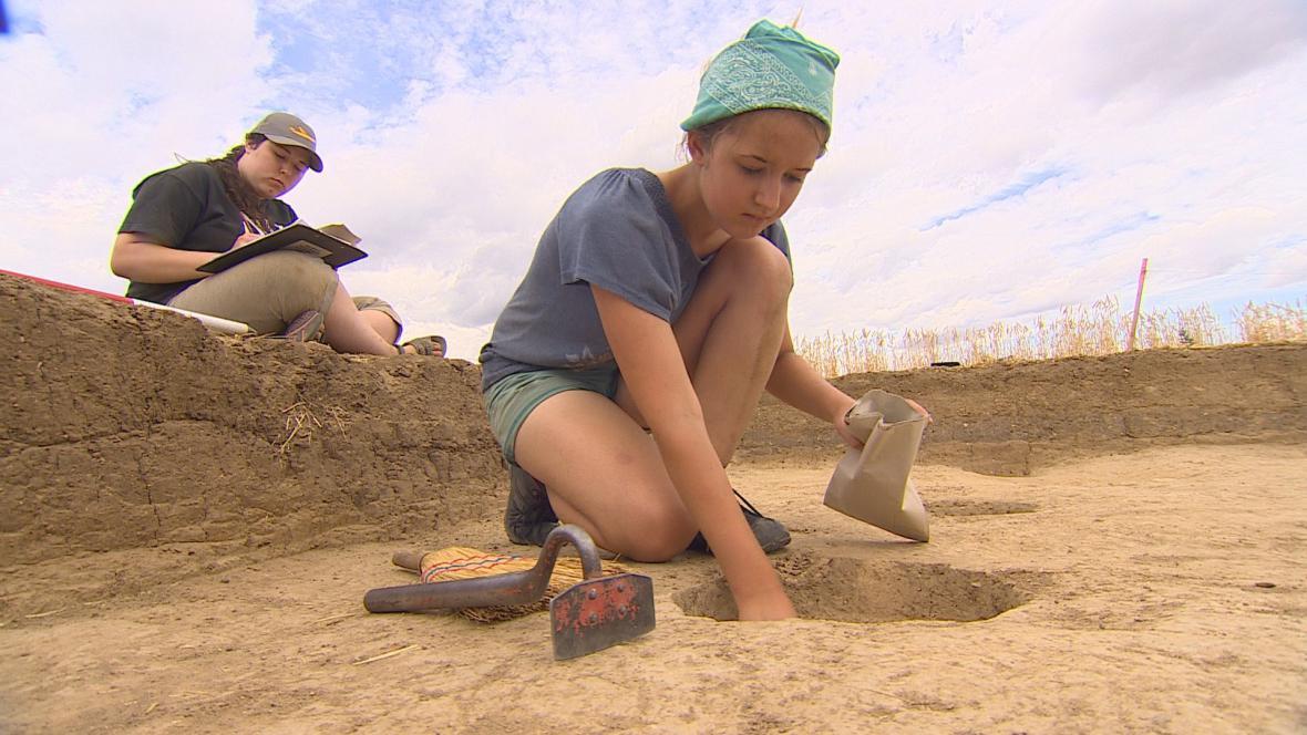 Archeologický průzkum v Těšeticích