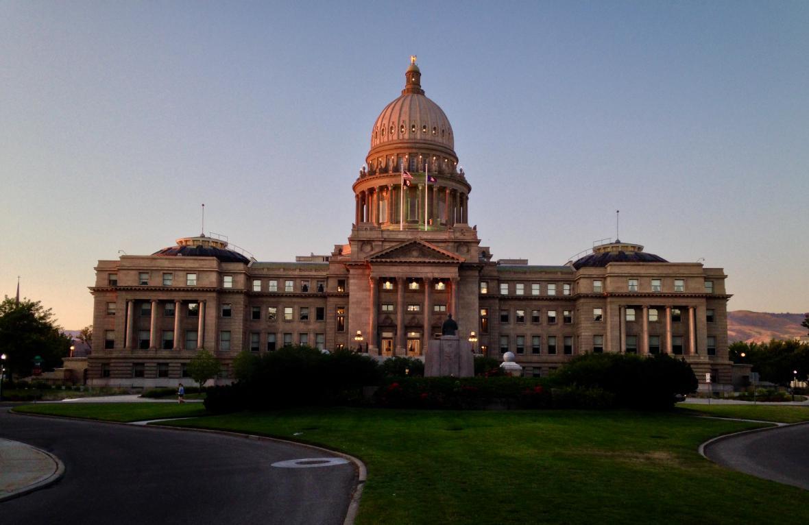 Kapitol v Boise