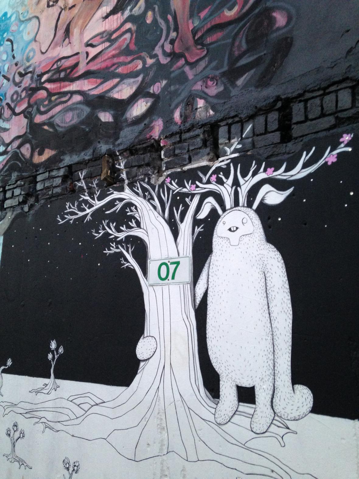 Street art v Boise