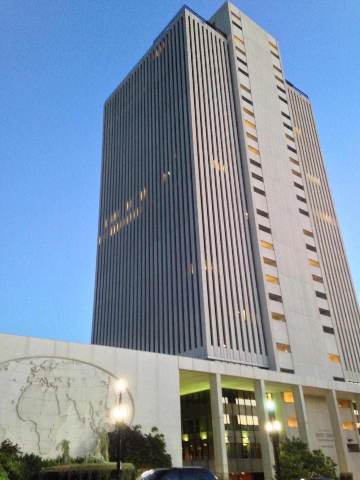 Centrum mormonské církve v Salt Lake City