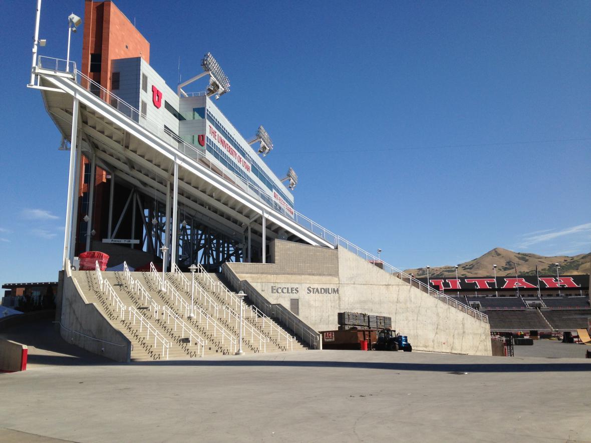 Olympijský stadion v Salt Lake City