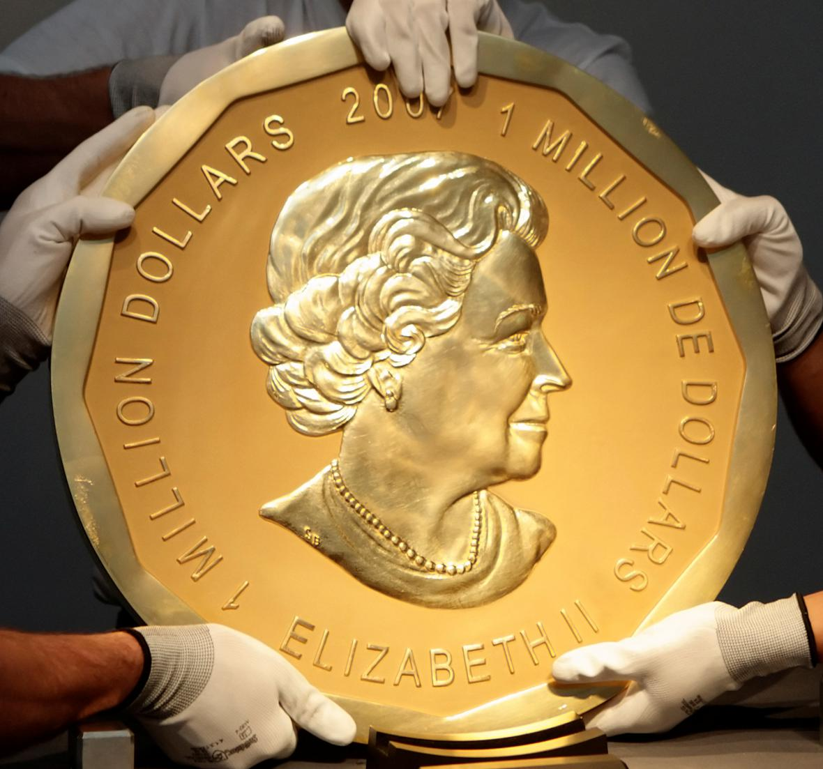 Zlatá mince Big Maple Leaf