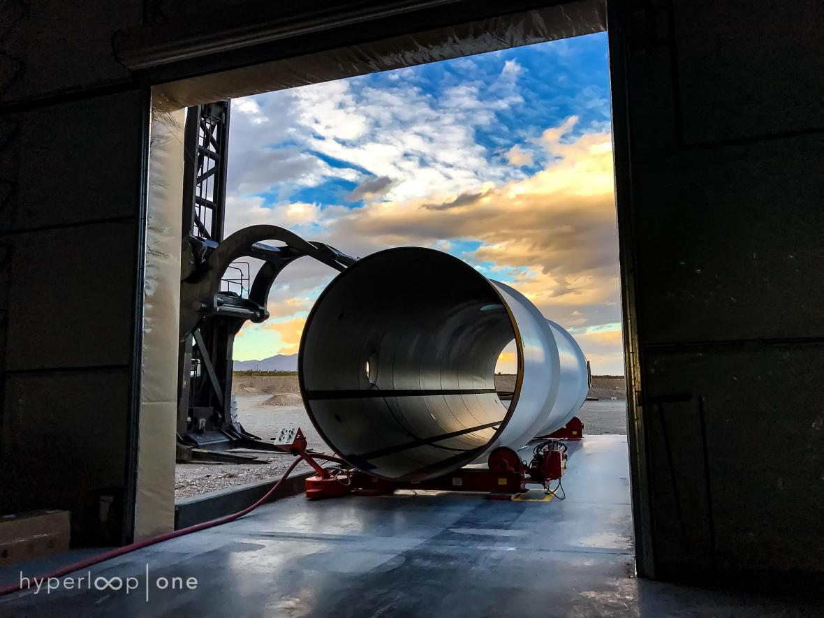 Testovací trať Hyperloop One