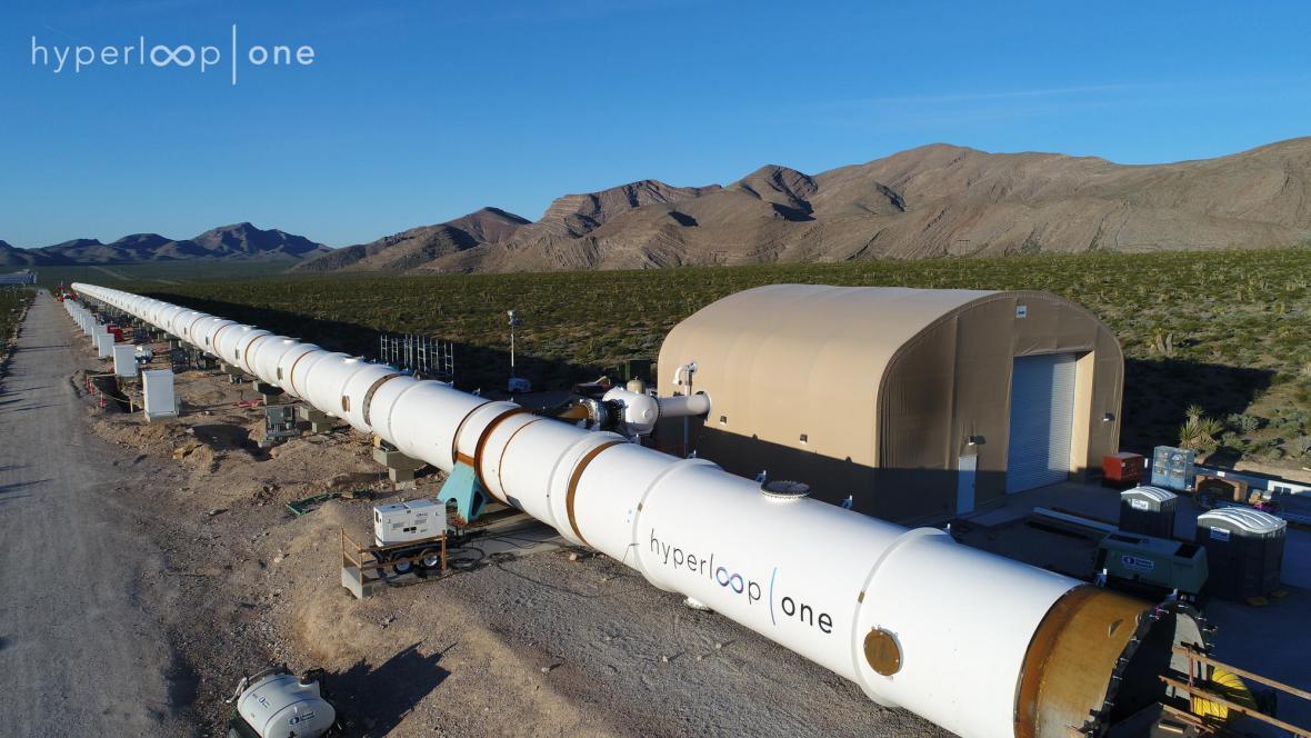 Testovací trať Hyperloop One