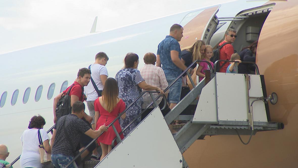 Letní provoz na brněnském letišti
