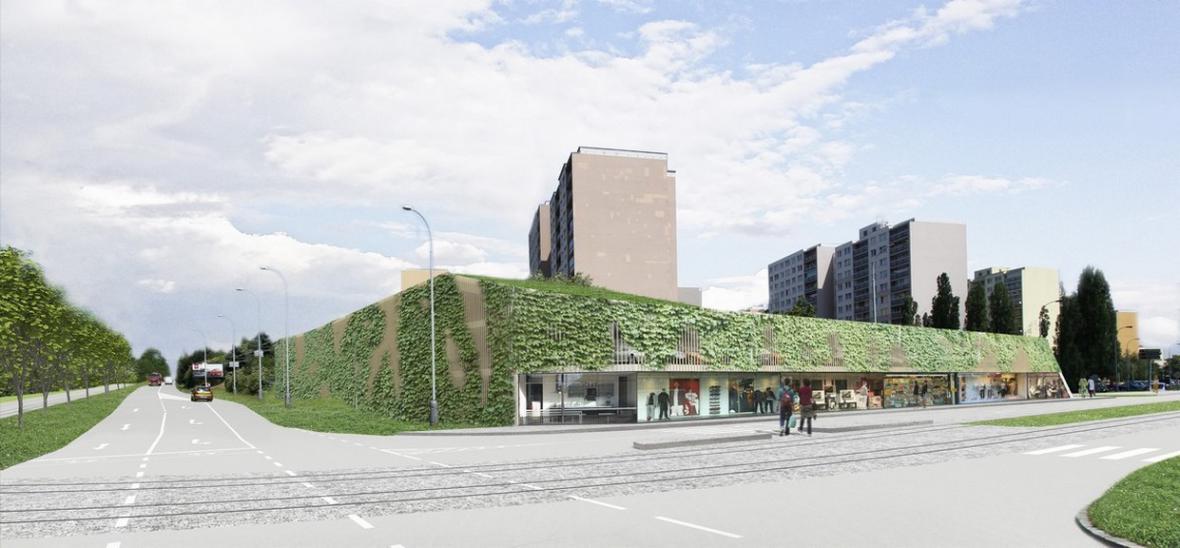 Architektonická soutěž na parkovací dům