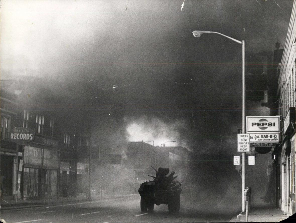 Rasové nepokoje v Detroitu v roce 1967