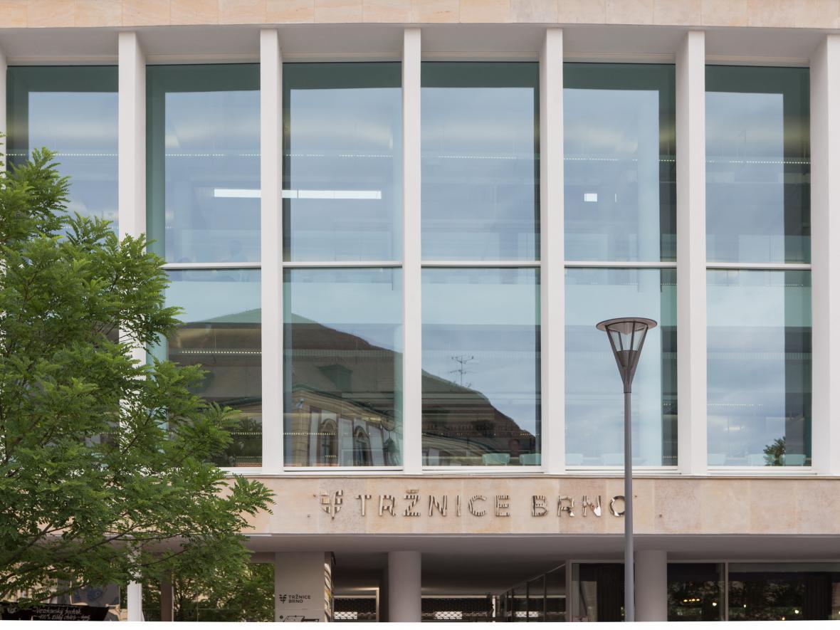 Nově otevřená tržnice v Brně