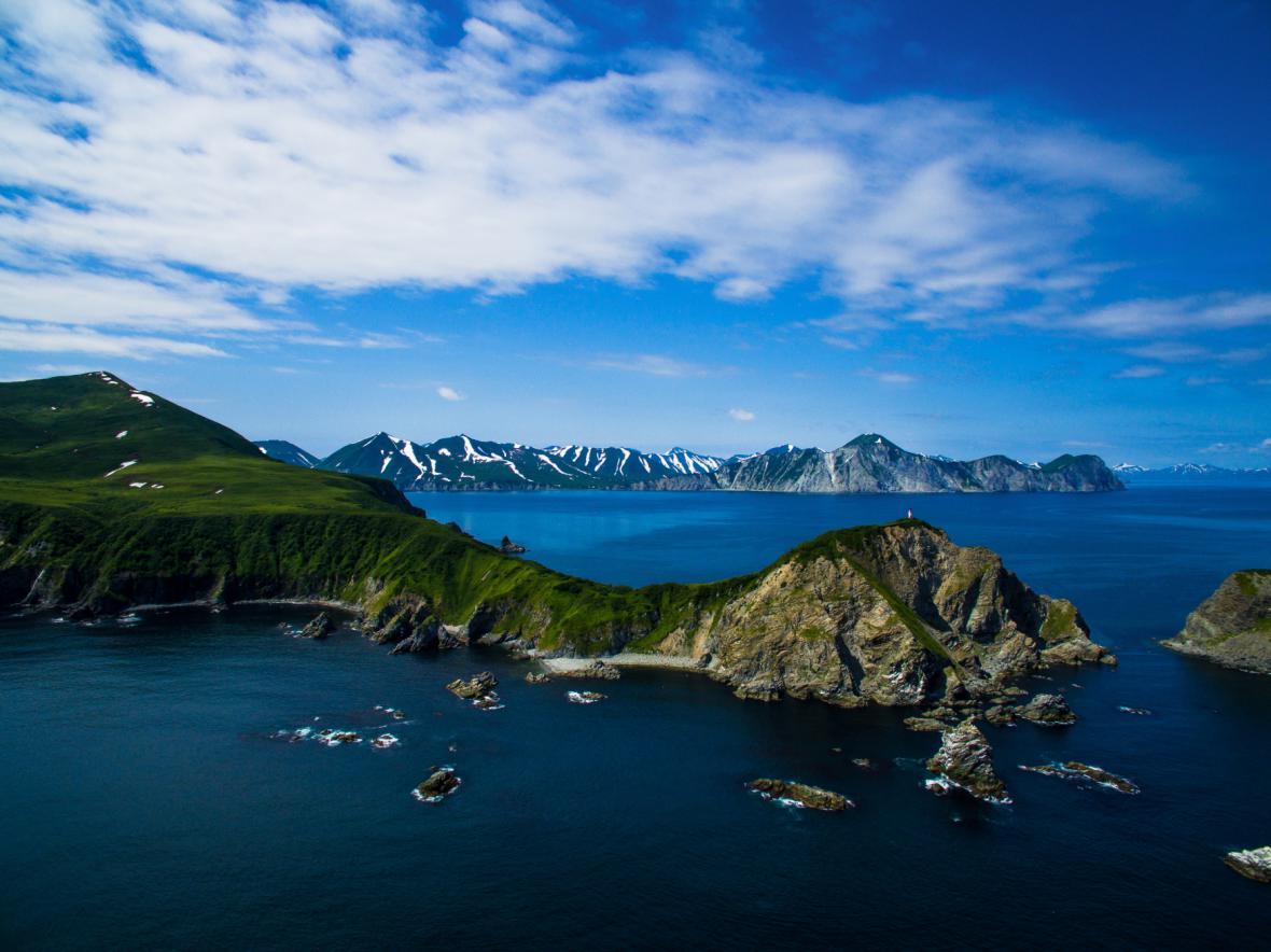 Ruský poloostrov Kamčatka. Ilustrační foto