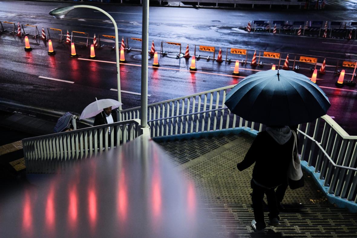 Fotografie z knihy Davida Gaberleho Metropolight