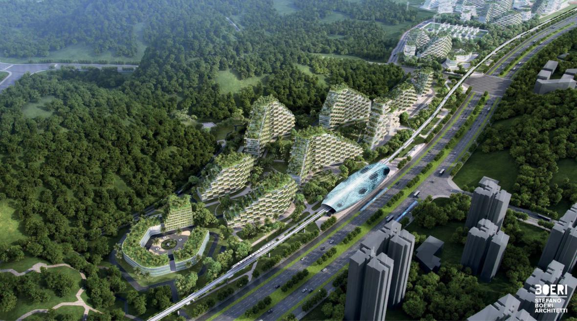 Lesní město v Číně