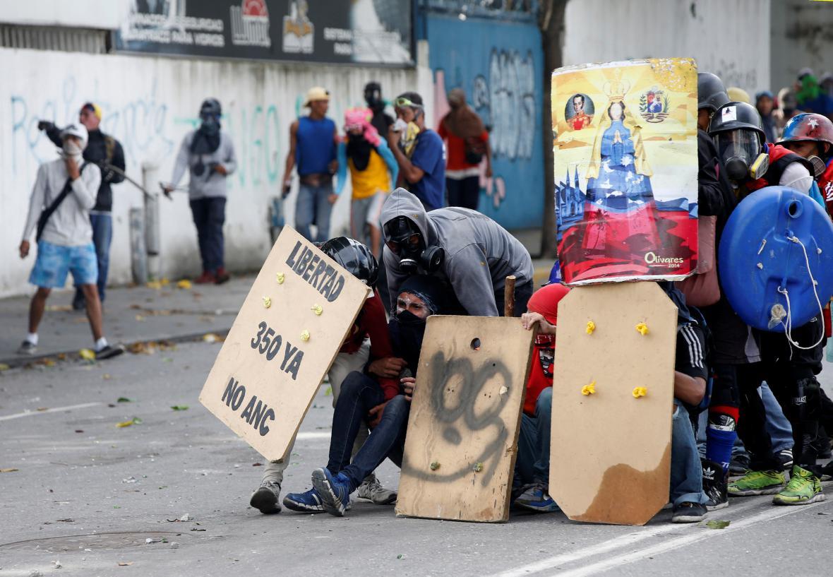 Střety ve Venezuele