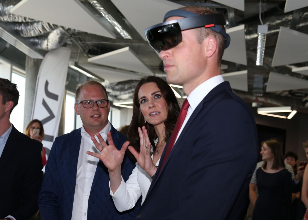Princ William s vévodkyní Kate na návštěvě Polska a Německa
