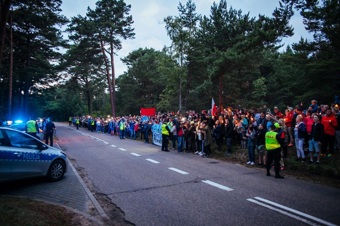 Polské protesty proti reformě nejvyššího soudu