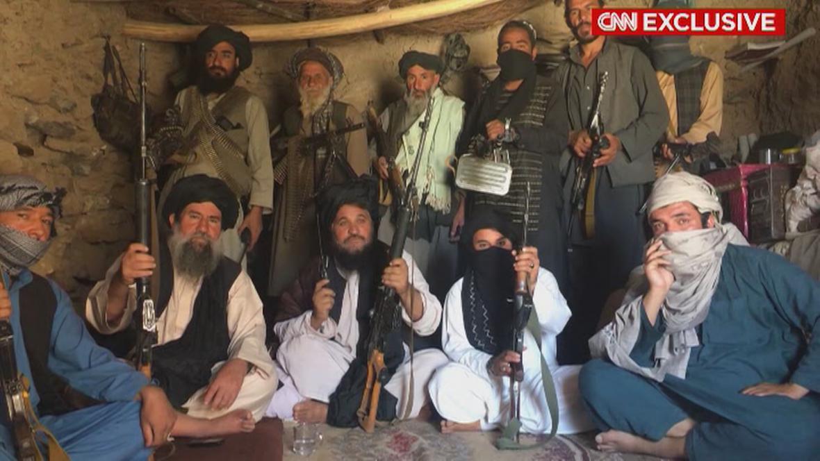 Příslušníci hnutí Taliban