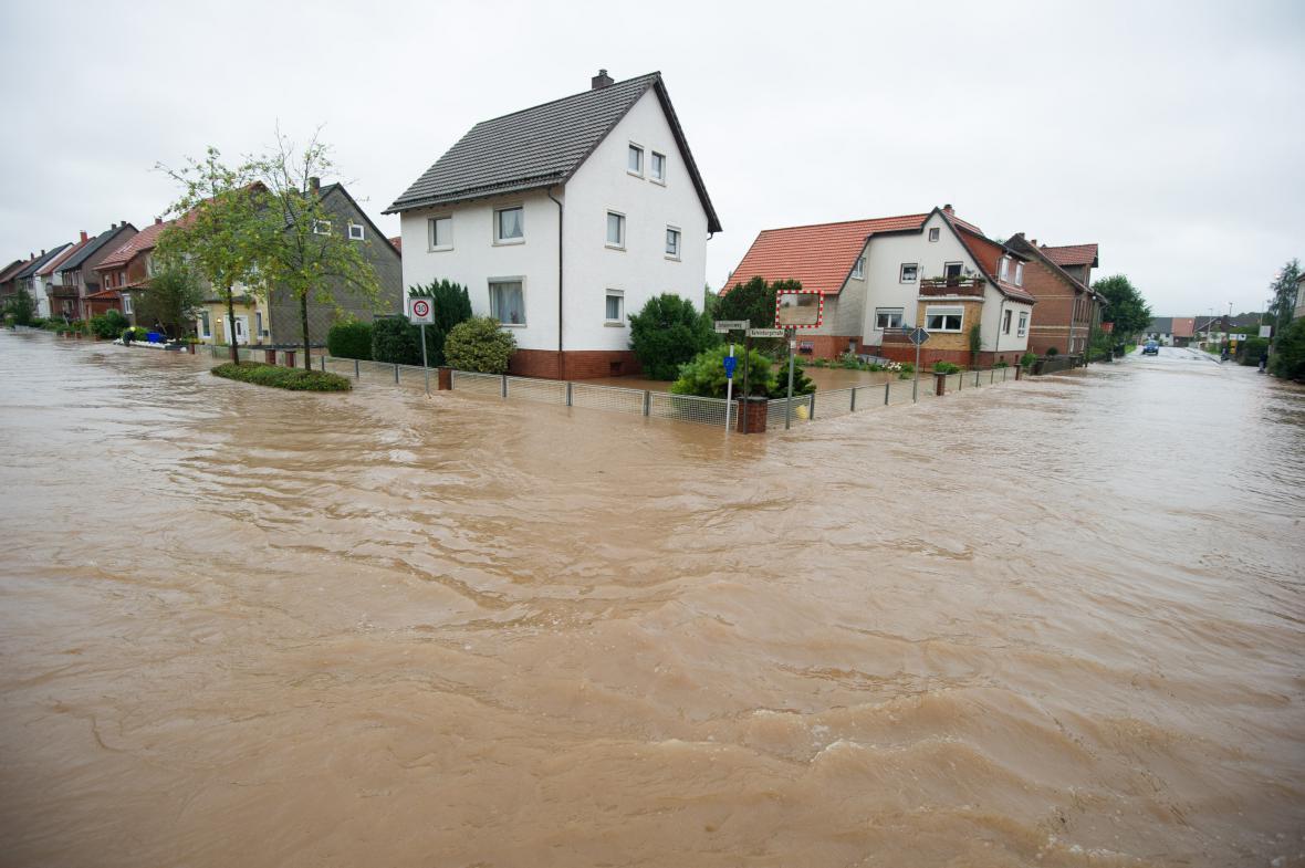 Záplavy v Dolním Sasku