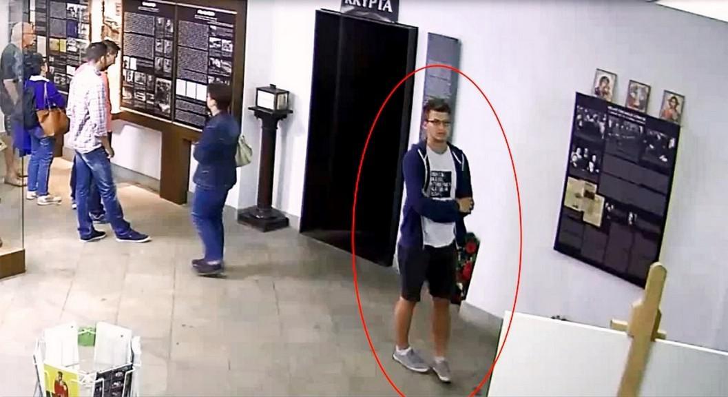 Mladík podezřelý z krádeže