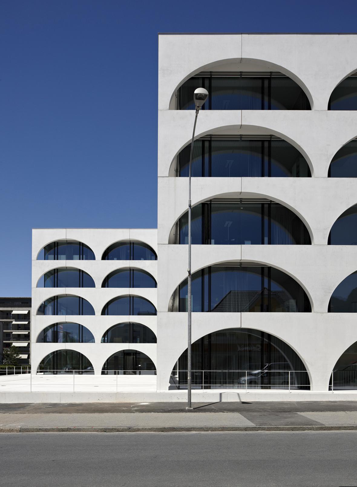 Švýcarská architektura v Galerii Josefa Fragnera