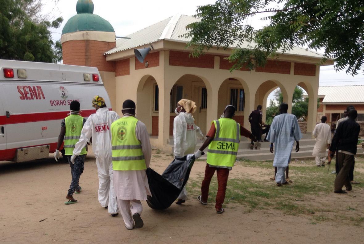 Zdravotníci zasahují po útoku na univerzitu v Maiduguri