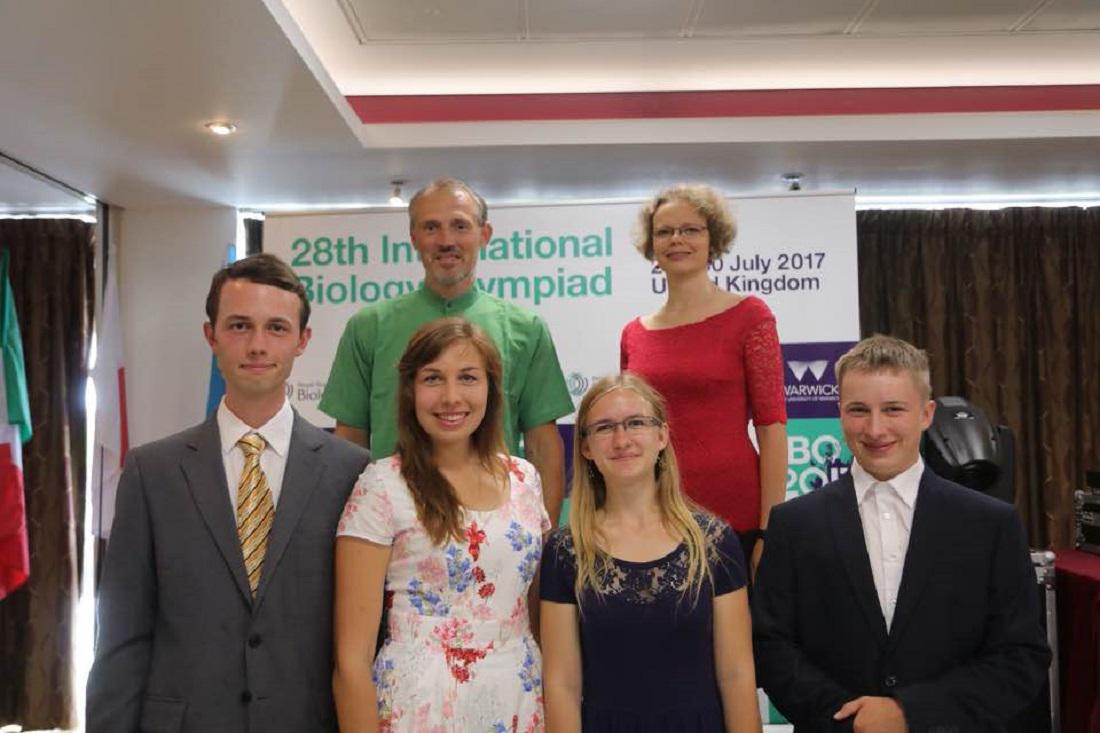 Čeští studenti uspěli na Mezinárodní biologické olympiádě