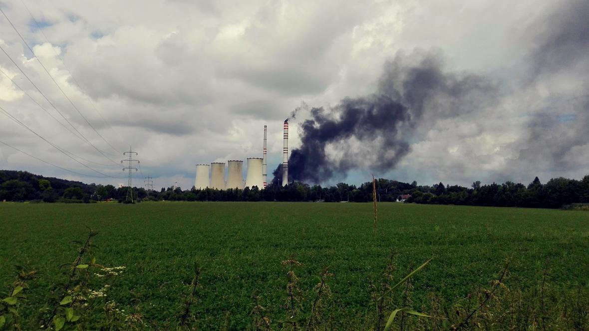 Elektrárna Dětmarovice hořela