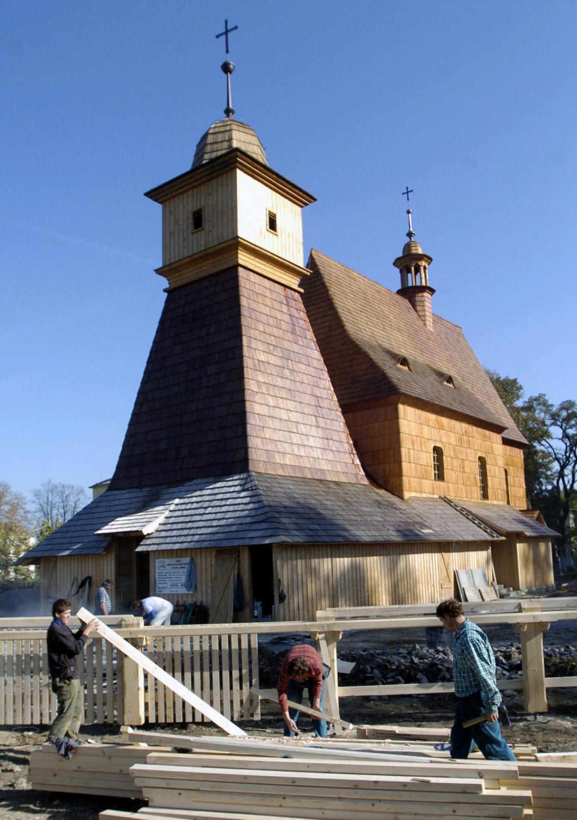 Kostel svaté Kateřiny Alexandrijské v Ostravě - Hrabové