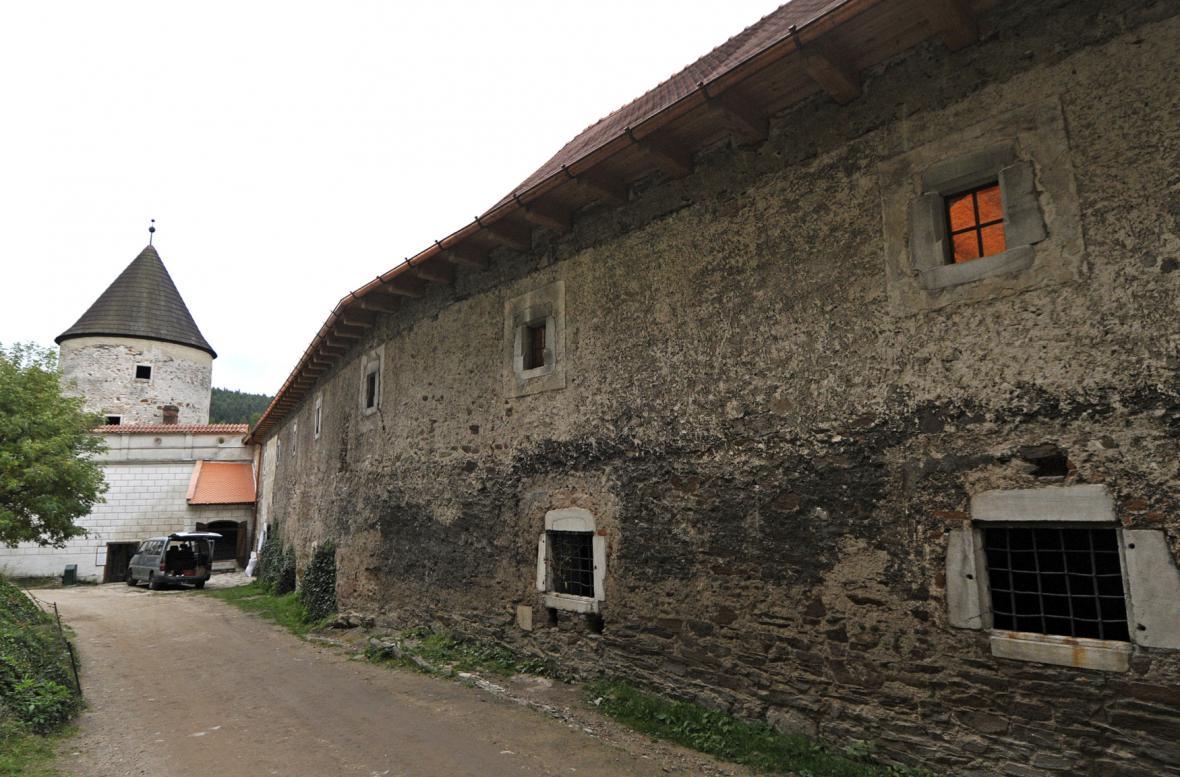 Požár hradu pernštejn