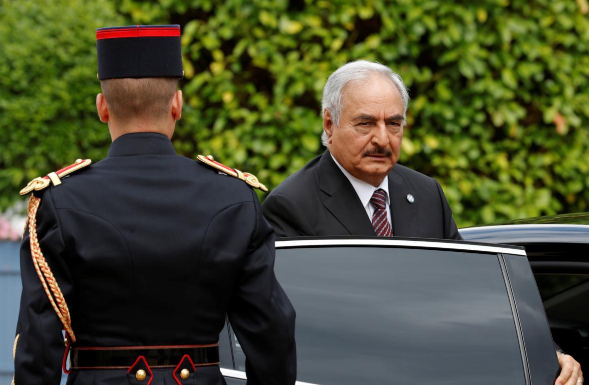 Libyjský generál Chalífa Haftar