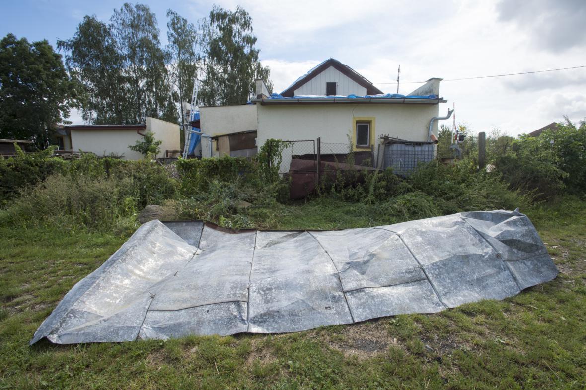 Škody po smršti v Bohuslavicích