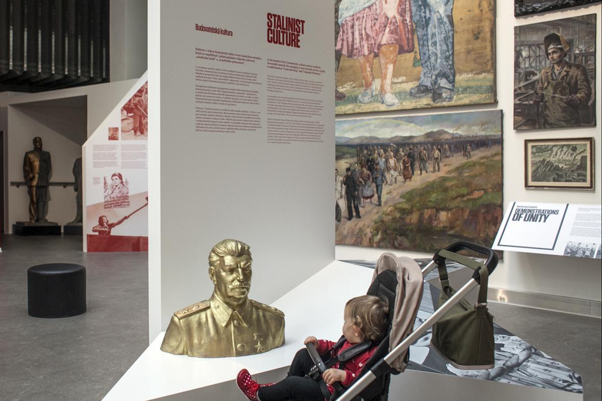 Nová expozice Muzea komunismu