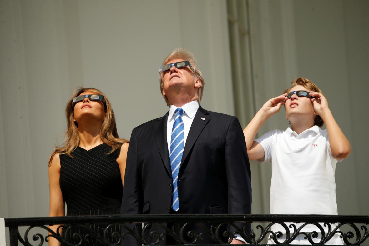 Zatmění Slunce v USA